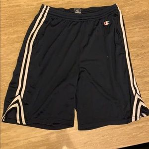 Men's Champion mesh athletic shorts medium